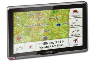 Nieuw Becker navigatiesysteem voor truck en camper