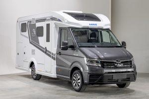 Knaus Van TI Plus camper op MAN onderstel