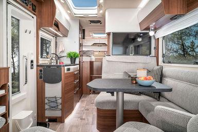 Hymer B-Klasse ModernComfort T camper modeljaar 2019