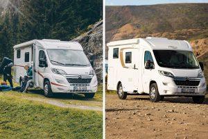 Nieuwe Vans in het programma van Carado en Sunlight