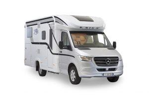 Laika M Edition: halfintegraal camper op Mercedes Sprinter basis