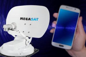 Megasat satellietontvangers ook via smartphone en tablet te bedienen