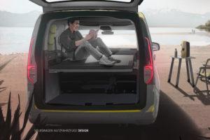 VW Mini-Camper Caddy
