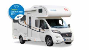 Eura Mobil is Camper van het Jaar en NKC-verkiezing Kampeerauto van het Jaar gaat van start