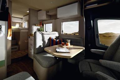 Hymer Tramp S camper modeljaar 2021