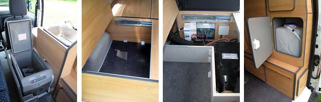 CampUniQ Minicamper interieur