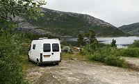 Camperplaatsen in Scandinavië