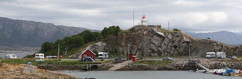 De jachthaven in Lødingen