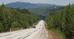 De E45 naar het noorden