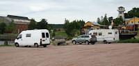 Svartvik: mooie nieuwe camperplaats bij industrieel erfgoed. [© Campersite.nl]