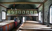Het oudste houten kerkje van Zweden