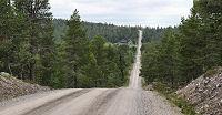 De weg bij Foskros